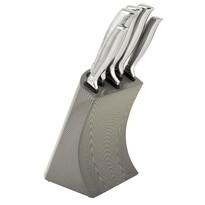 Berlinger Haus 6dílná sada nožů ve stojanu Kikoza Collection, sv. šedá