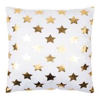 Polštářek Gold De Lux Hvězdy, 43 x 43 cm