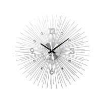 Lavvu Crystal Lines LCT1140 falióraezüst, átmérő: 49 cm