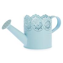 Metalowa konewka Lace niebieski, śr. 10 cm