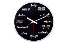 Nástěnné matematické hodiny