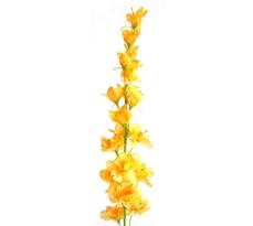 Sztuczny kwiat Ostrożka żółta