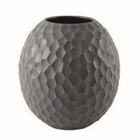 ASA Selection vázaCarve 16 cm tmavo sivá