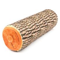 Polštářek poleno oranžová, 14 x 44 cm