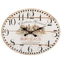 Nástenné oválne hodiny France, 39 cm