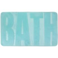 Koupelnová předložka Bath tyrkysová, 45 x 75 cm