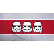 Ręcznik kąpielowy Star Wars Stormtroopers stripes, 70 x 140 cm