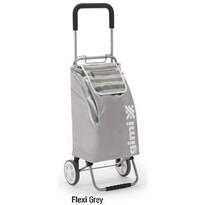 Gimi Flexi nákupná taška na kolieskach šedá