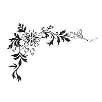 Naklejka dekoracyjna kuszony motyl