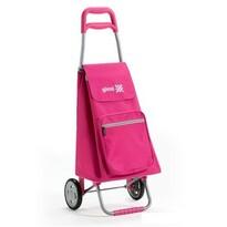 Gimi Argo nákupná taška na kolieskach ružová