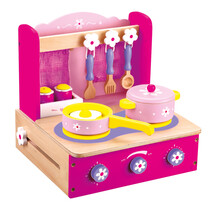Bino Aragaz pentru copii cu accesorii, 10 piese