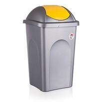 Multipat odpadkový koš žlutá