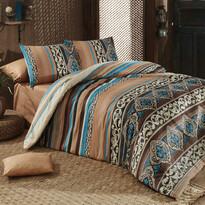Bavlnené obliečky Adriana Brown, 140 x 200 cm, 70 x 90 cm