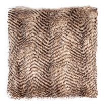 Pernuţă striată, maro deschis, 45 x 45 cm