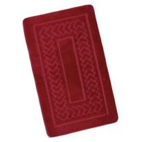 Koupelnová předložka Standard Červené bolzáno, 60 x 100 cm