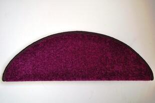Nášľap na schody Eton, fialová, 24 x 65 cm