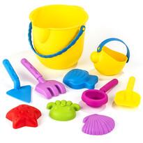 Zestaw plażowy dla dzieci Ocean, 10 szt., żółty