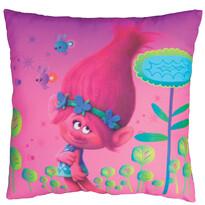 Polštářek Trolls Poppy, 40 x 40 cm