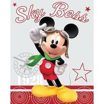 Koc dziecięcy Mickey, 120 x 150 cm