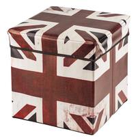 Pudełko składane do przechowywania z nadrukiem Great Britaim