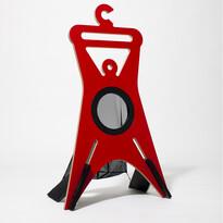 Wieszak stojący TONDA 94,9 cm, czerwony