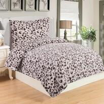 Lenjerie de pat Serena, din micro-pluș, 140 x 200 cm, 70 x 90 cm