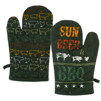 Chňapka Sun, beer & BBQ, 17 x 27 cm