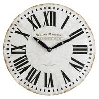 Nástěnné hodiny William Marchant, bílá