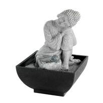 Stolní fontána Spící Buddha, 18 cm
