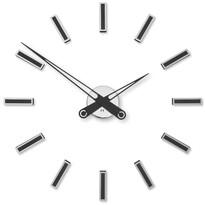 Future Time FT9600BK Modular black Designerski zegar naklejany, śr. 60 cm