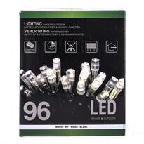 Vianočná svetelná reťaz, biela, 96 LED