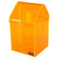 Úložný box Dům Tobias 16,5 cm, oražový