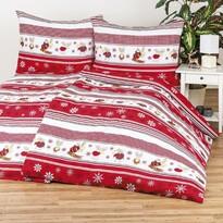 4Home Bavlnené obliečky Sobíky, 220 x 200 cm, 2 ks 70 x 90 cm