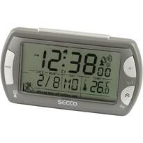 SECCO S R358RC-02 (572) Digitální budík, šedá
