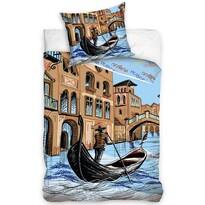Bavlněné povlečení Benátky, 140 x 200 cm, 70 x 80 cm