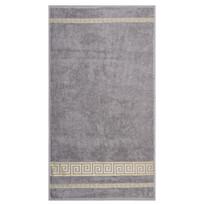 Ręcznik Ateny szary, 50 x 90 cm
