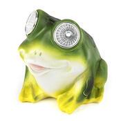 Solární světlo žába, zelená