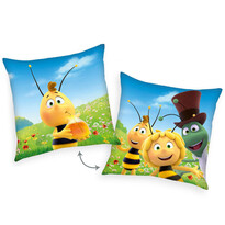 Poduszka Pszczółka Maja, Gucio i Filip, 40 x 40 cm