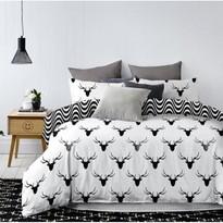 DecoKing Bavlnené obliečky Deerest, 135 x 200 cm, 80 x 80 cm