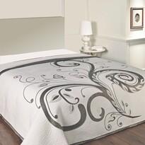 Narzuta na łóżko Dominic czarny, 140 x 220 cm