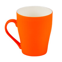 Florina Neonový hrnek 300 ml, oranžová
