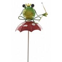 Dekoračná Žabka na dáždniku, 70 cm