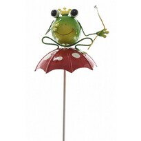 Dekorační Žabka na deštníku, 70 cm