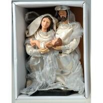 Svatá rodina stříbrná, 20 cm