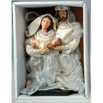 Święta Rodzina srebrny, 20 cm
