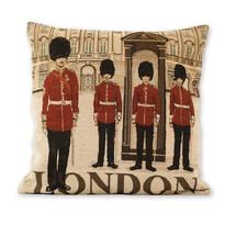 Obliečka na vankúšik Žakár London, 45 x 45 cm