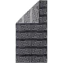 Cawö Frottier ręcznik Decor antracyt