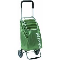 Gimi Flexi kerekes bevásárlótáska, zöld, 45 l
