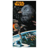 Osuška Star Wars vesmírná loď, 75 x 150 cm