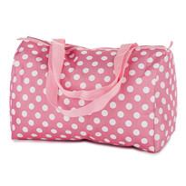 Chladicí taška puntík 20 l, růžová